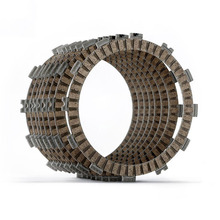 Motocycle Cruiser Clutch Friction Plates Kit fit for Harley FXDXT 01-05 FLD 12-16 FXDWG 98-17 FXDWG I 04-06 FLHTC 98-13 motocycle clutch friction plates kit for dr z250 01 07 dr250rxl 96 98 dr250rxgl 98 dr250rxg 98 00 dr250rx 96 98 00 05