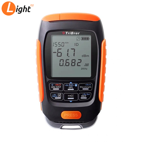 4 in 1 Mini Multifunction Optical Power Meter Save data Visual Fault Locator Network Cable Test VFL optical fiber tester 15/km Lahore