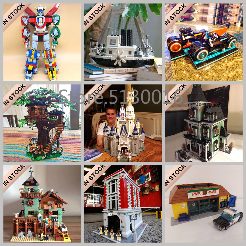 In stock Ideas Creator Building Blocks Toys 21302 16024 21313 21314 21317 21318 21319 21320 21321 16050 16001 16005 16007 16008 image