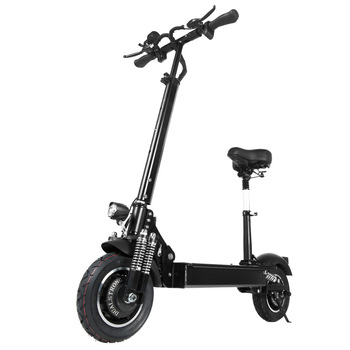 janobike electric scooter adult 52V/2000W 10 inch road tire folding electric scooter double motor electric motorcycle 1