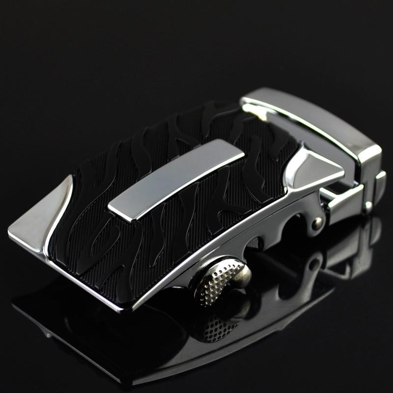 Fashion Men's Business Alloy Automatic Buckle Unique Men Plaque Belt Buckles For3.5cm Ratchet Men Apparel Accessories LY125-0367