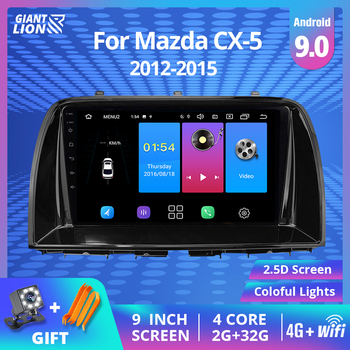 IPS 2din Android 9.0 Car Radio For Mazda CX5 CX-5 CX 5 2012-2015 Car Multimedia Video Player Navigation GPS No 2din Dvd Player image