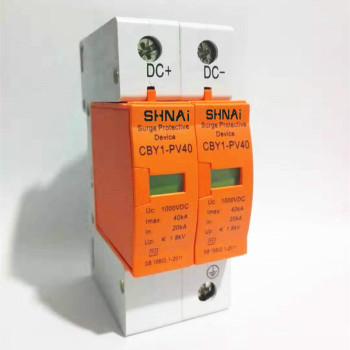 Surge Protective Device SPD DC 500V 800V 1000V 2P DC1000V 20KA~40KA  Low-voltage Arrester  House din rail 2 Poles Protector 2p surge protective device dc photovoltaic lightning protector low voltage arrester