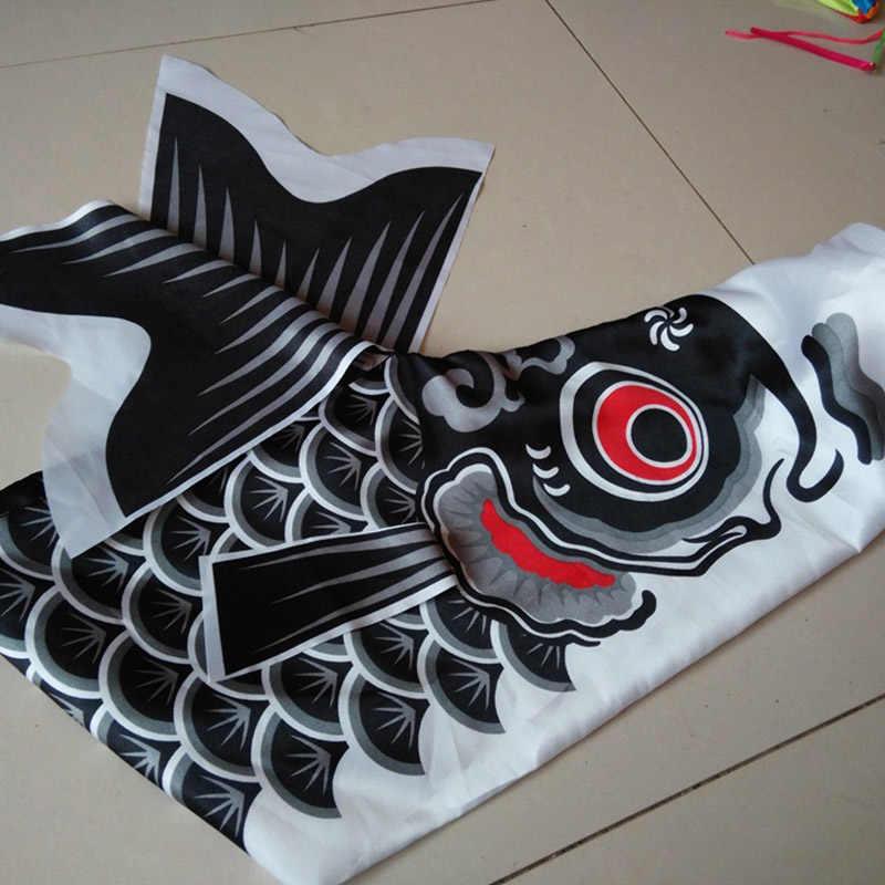 5 pçs japonês tradicional carpa bandeira banners carpa windsock sailfish vento streamer multicolorido peixe decorações de festa em casa