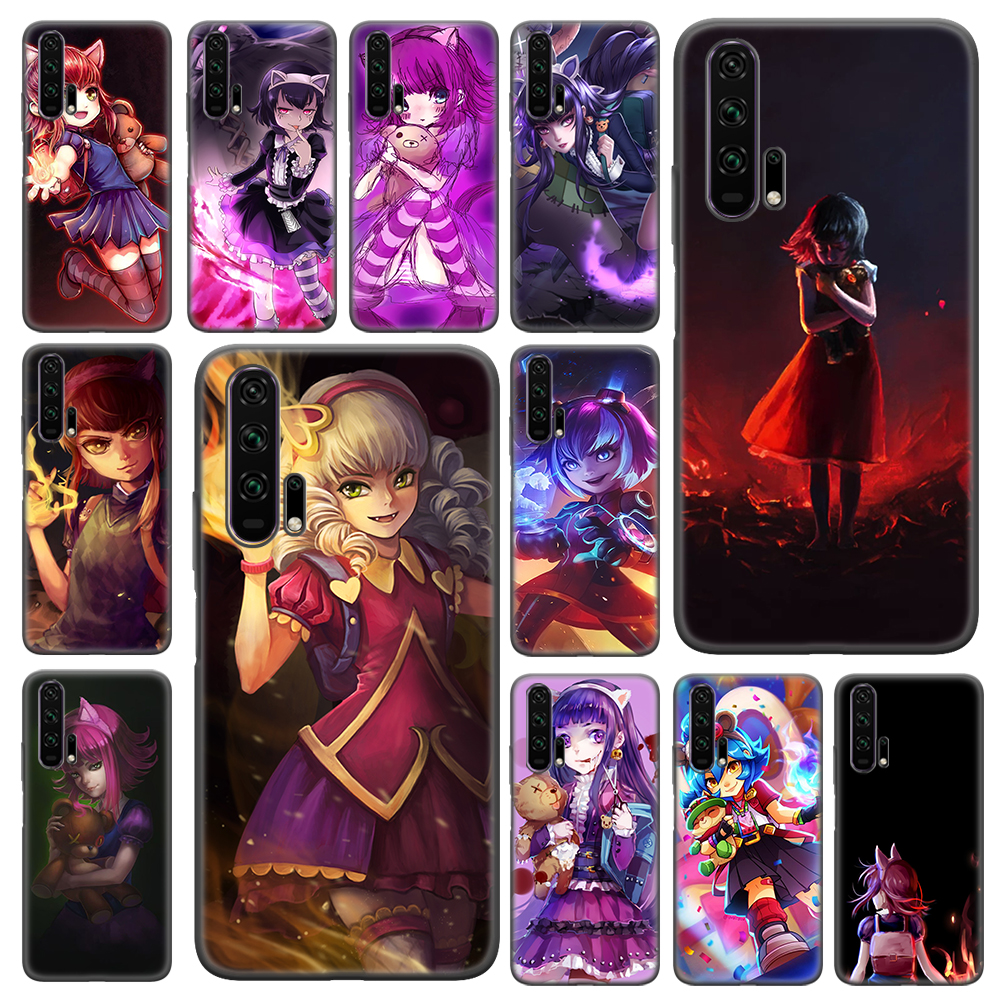 <font><b>Annie</b></font> hero LOL Soft Case For Huawei Honor 20 10 9X Lite 20 <font><b>30</b></font> 9X Pro 20e 10e 8A 2020 X10 5G 9S 9C 9A TPU Cover image