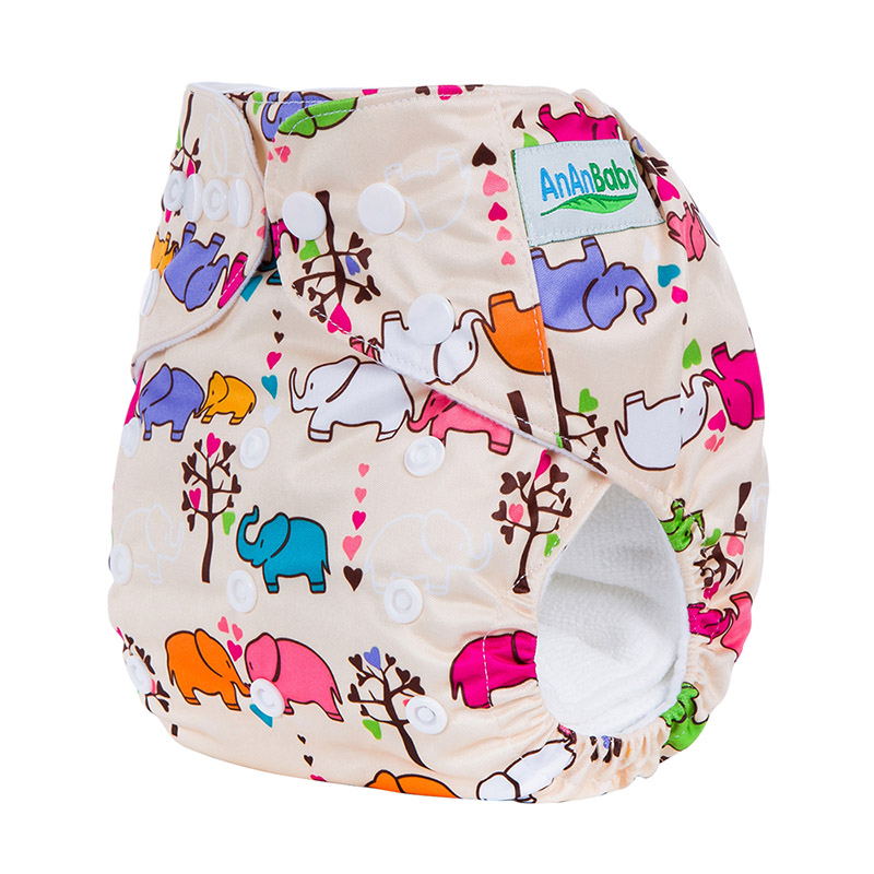 10pcs/lot Machine Reusable Baby Cloth Diapers Pants Without Insert Suit 3-15kg And You Can Choose A Suit In The Detail Page