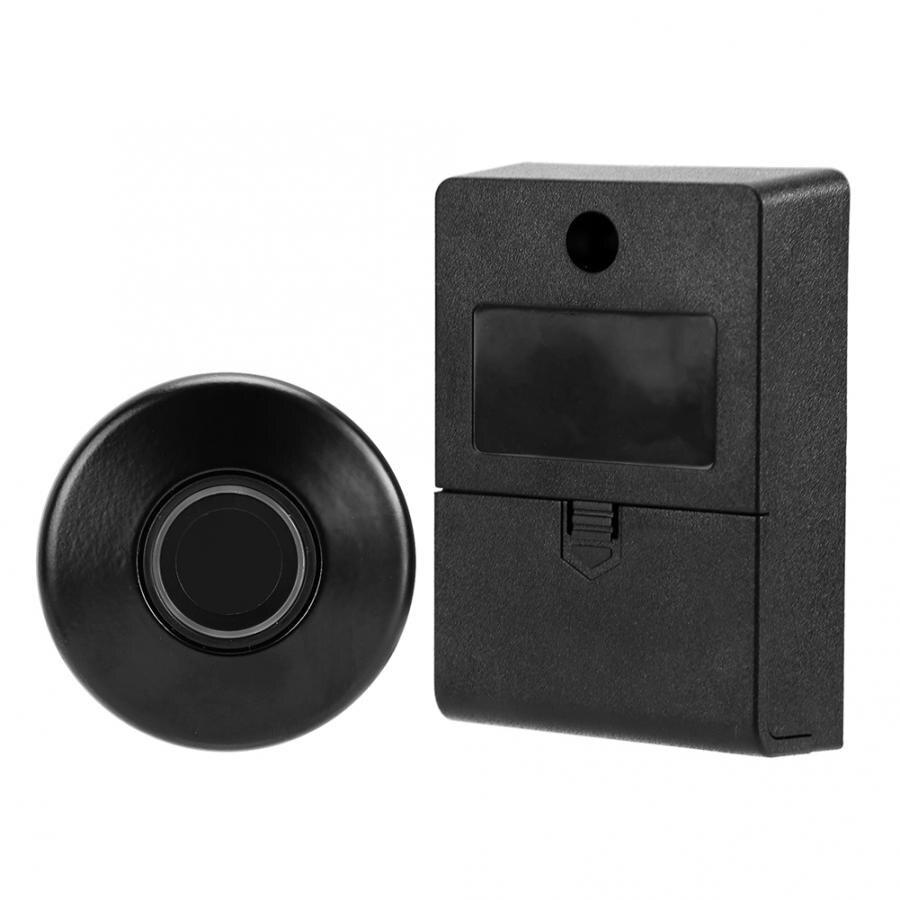 Semiconductor Fingerprint Password Keyless Lock for Wardrobe Drawer Office Cabinet