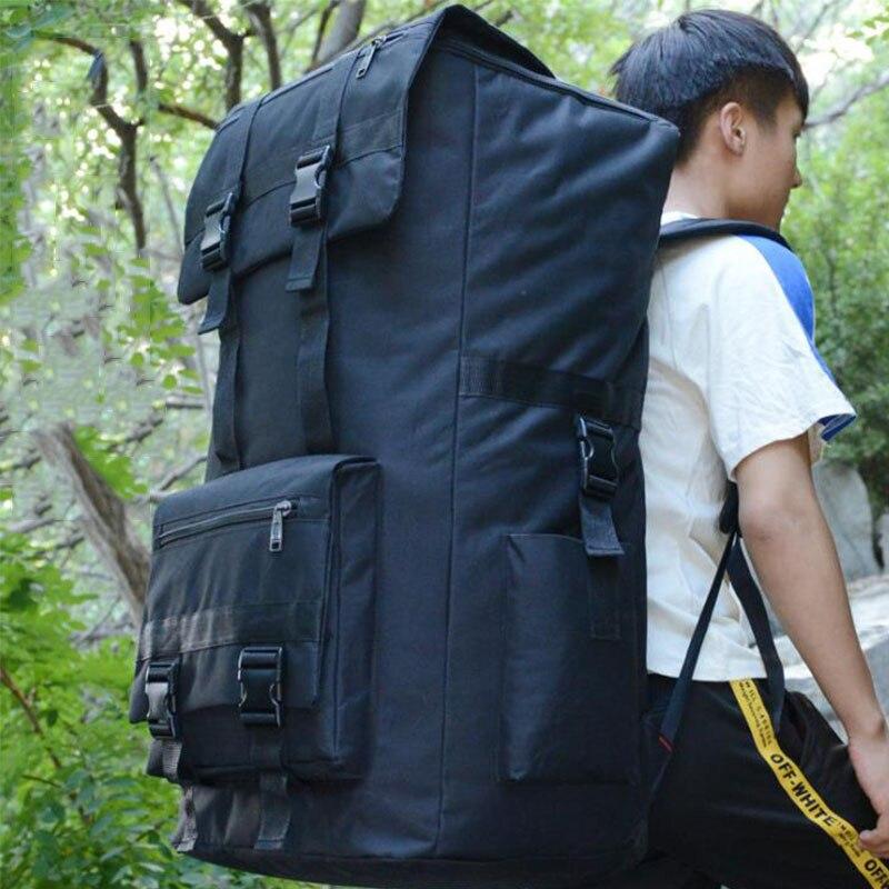 Sac à dos tactique militaire extérieur de grande capacité 110L Oxford sac à dos d'escalade Camo imperméable randonnée sac de voyage de Trekking