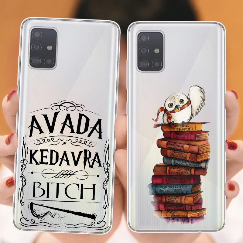 Soft Silicone Phone Case For Samsungs Galaxys S20Ultra S20 S7 Edge S8 S9 S10 Lite S10 Plus Original Cartoon Harries Potter Cover image
