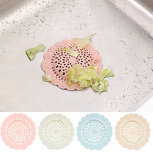 Clearance Sale 2pcs/lot Plastic Kitchen Flower Shape Sink Filter Bathroom Sewer Drain Hair Strainers