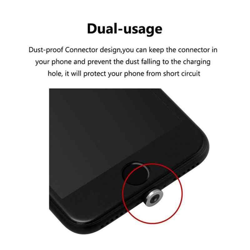 Magnetic Adaptor untuk Micro USB Charger Converter untuk Samsung Android Ponsel Kabel USB Ponsel Kabel USB