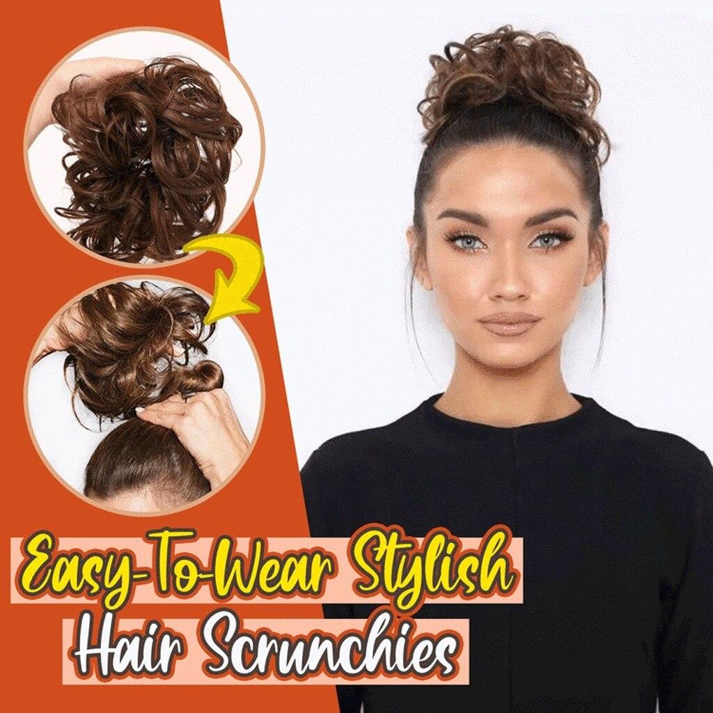 Легко носить стильные женские резинки для волос, женские резинки для волос, женские инструменты для волос, волшебный стиль для волос
