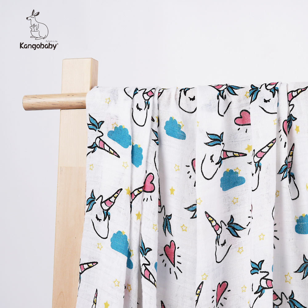 Kangobaby Newborn Baby Swaddling Clothes Blanket Soft Baby Bedding Bath Towel Bag