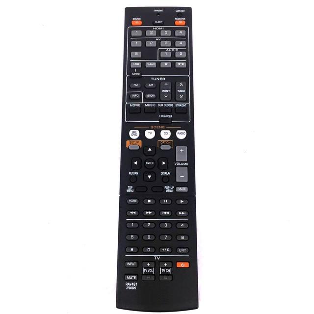 Yeni yedek uzaktan kumanda RAV491 ZF30320 YAMAHA AV alıcısı radyo değiştirin RAV494 HTR 4066 RX V475 Fernbedineung