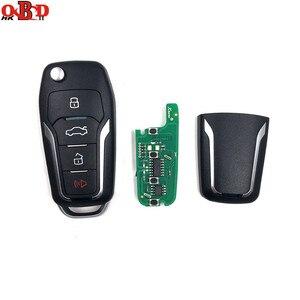 Image 5 - Xhorse vvdi2 chave de carro universal, chave remota de 4 botões para ford mini programador vvdi, ferramenta chave, max, versão em inglês, com 10 peças xkfo01/xefo01en