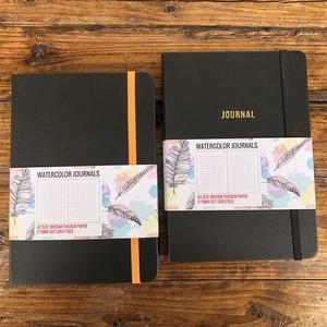 Image 5 - BUKE Dot Grid Notebook Dotted Watercolor Journal Sketchbook Thicken Paper 180GSM 160GSM Dotted160 Pages 5X5mm