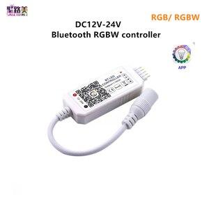 Image 1 - קסם בית DC5V 12V 24V Bluetooth אלחוטי WiFi בקר, RGB/RGBW IR RF LED בקר עבור 5050 WS2811 WS2812B פיקסל led רצועת