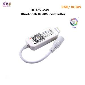 Image 1 - Magic Home contrôleur wi fi, 12V 24V dc, Bluetooth, RGB/RGBW IR contrôleur RF LED, pour bande led 5050 WS2811 WS2812B pixels