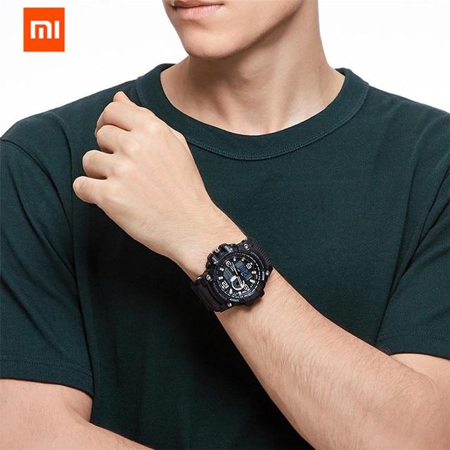 Share To Xiaomi 50ATM Waterproof Electronics Display Watch Time Display Calendar Countdown Outdoor Sport Digital Watch 2