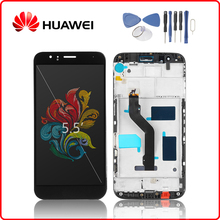 купить Original For HUAWEI G8 LCD Display Touch Screen Digitizer For Huawei G8 Display with Frame Replacement GX8 LCD RIO-L01 RIO-L02 по цене 1401.8 рублей