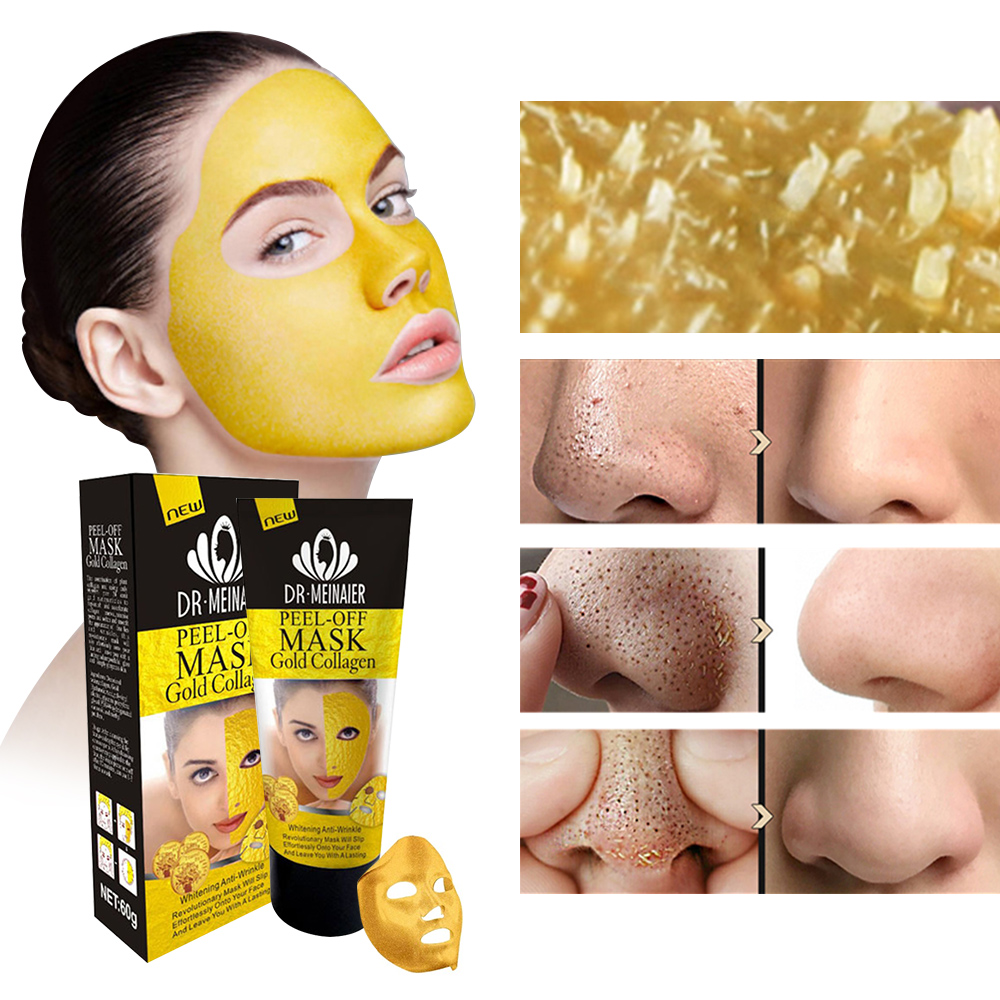 Image 4 - Tearing Mask For The Face Peel Mask Oil Control Blackhead Remover Peel Off Dead Skin Face Mask Clean Pores Shrink Facial Care-in Treatments & Masks from Beauty & Health