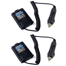 AABB-Retevis 2Pcs Car Charger Battery Eliminator Dc 12V for Baofeng Uv-5R Uv5R Retevis Rt-5R Rt5R Interphone Accessories for Tra(China)