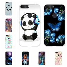 For Alcatel 1S 2019 Phone Case Ultra-slim Soft TPU Silicone 1s Cover Butterflies Pattern alcatel Bumper Shell