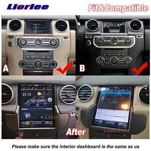 Image 3 - 垂直テスラandroidランドローバーディスカバリー 4 LR4 L319 2009 2016 ラジオカーオーディオマルチメディアプレーヤーgps carplayステレオナビ