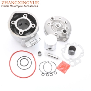 70cc 47mm Big Bore cylinder kit & Piston Kit & Cylinder Gasket for Rieju RJ SM 50 RRX RS2 RS3 Tango Motard 50cc LC 2T AM6(China)