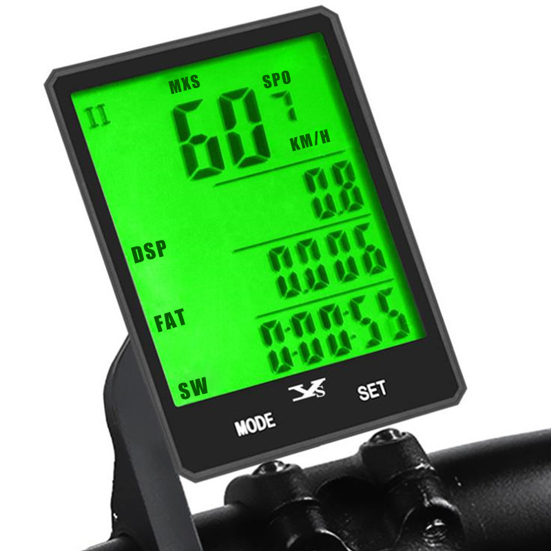 <font><b>Bike</b></font> <font><b>Computer</b></font> Speedometer <font><b>GPS</b></font> Bicycle 2.8 Inch Big Screen Wireless Cadence Sensor Extension Mount Digital Cycling Accessories image