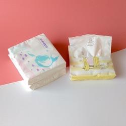 Nieuwe Creatieve Nieuwe Stijl Gedrukt Papieren Handdoek-Stijl Cartoon Papier Extractie Ongeparfumeerde Tekening Papier Tissue Pakketten 24 Gemengde Papier