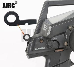 Алюминиевый трансмиттер Sanwa металлический крюк для радиоуправляемой системы дистанционного управления Sanwa M12/M12S/RS/Sanwa MT4/MT4S/Sanwa MT-44