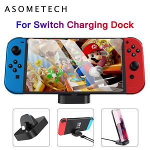 Type-C USB Charger Stand for Nintendo Switch Charging Dock Station Support Holder Compact Game Accessories USB C Phone Charger