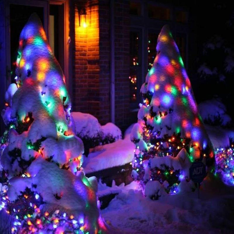 Solar String Lights Outdoor Waterproof Street Garland 200 Led Light Christmas Party Garden Home Decor Solar Powered Fairy Lights