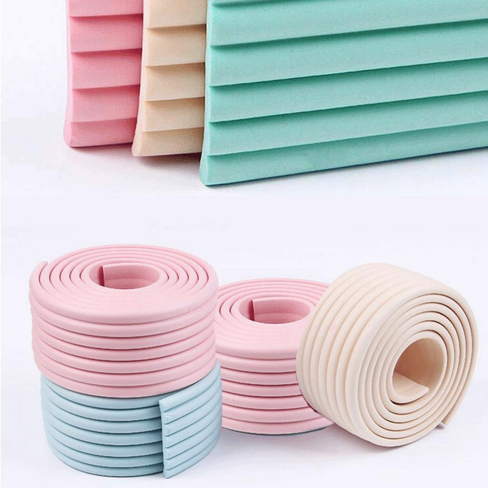 2m Children Safety Soft Table Desk Edge Corner Cushion Protector Strip Bumper
