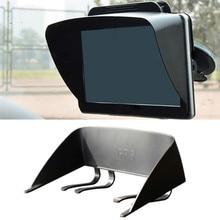 7 Inches Navigator Sun Visor Universal Car GPS Navigation Light Cover Barrier GPS Navigator Sun Visor Sunshade For Car стоимость