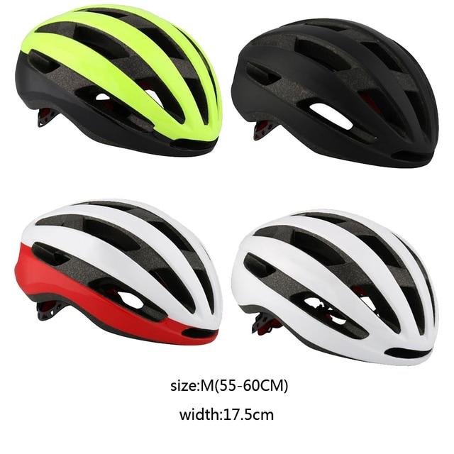 Rnox aero bicicleta de segurança ultraleve estrada capacete vermelho mtb ciclismo capacete da cidade ao ar livre montanha esportes boné casco 1