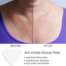 Silicone Transparent Removal Patch Reusable Anti Wrinkle Pad Face Chest Patch Breast Chest Lifting F