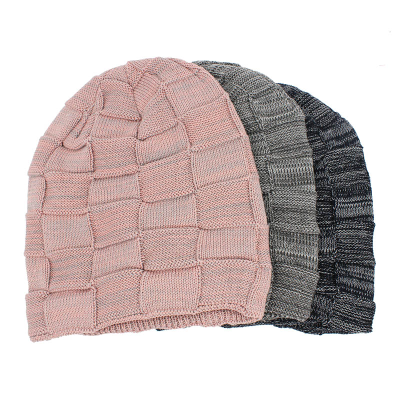 LOVINGSHA Women Men Winter Warm Hat For Adult Unisex Outdoor New Wool Knitted Beanies Skullies Casual Cotton Hats Cap HT143