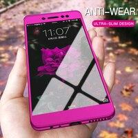 360 grad Fall Für Xiaomi Mi Poco M3 X3 10T Lite Anmerkung 10 Telefon Shell Redmi Hinweis 9 8 7 6 5 Pro 8T 9S 9A 9C Volle Abdeckung Mit Glas