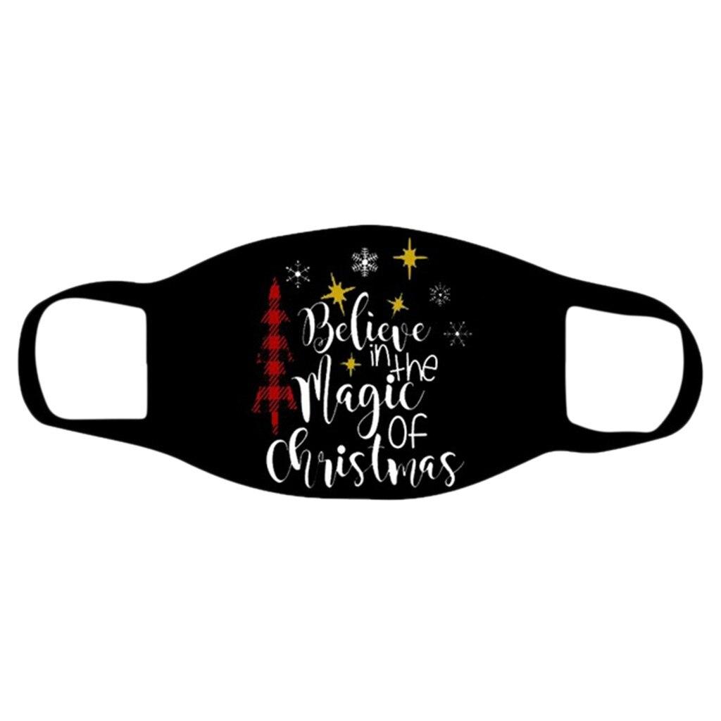 "Wzór z napisem ""Believe in the magic of christmas"""
