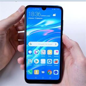 Image 2 - FCCID Version mondiale Huawei Y7 2019 téléphone portable 6.26 pouces 3GB 32GB DUB LX1 double SIM Octa Core visage déverrouillage caméra AI