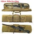 120cm karabin wojskowy pistolet torba Case taktyczna torba na ramię Airsoft karabin torba myśliwska strzelanie Sniper wiatrówka ochrony plecak