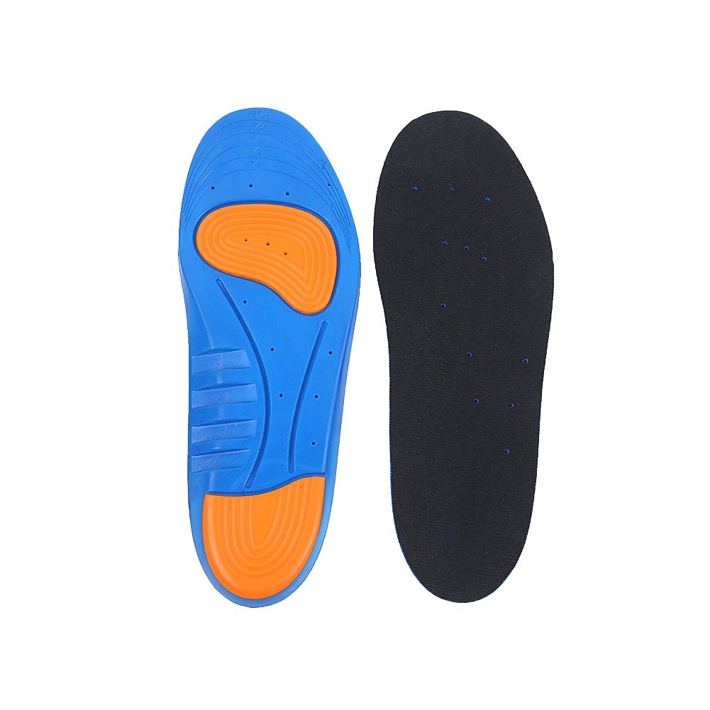 1 Pair Women Easy Clean Sport Basketball Shock Absorption Shoe Pads Foot Care Soft Thicken Absorb Sweat Insole Health Gel Insert