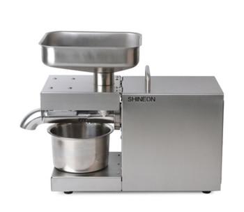 110V/220V automatic cold press oil machine, oil cold press machine, sunflower seeds oil extractor, oil press 1500W недорого