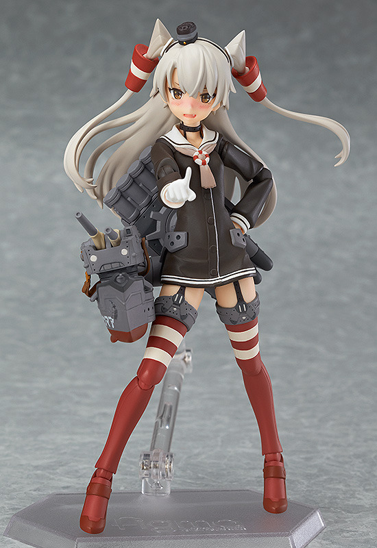 Anime Figma 240 Collection Amatsukaze PVC Figure Toy Game Sexy Collectible Model Doll