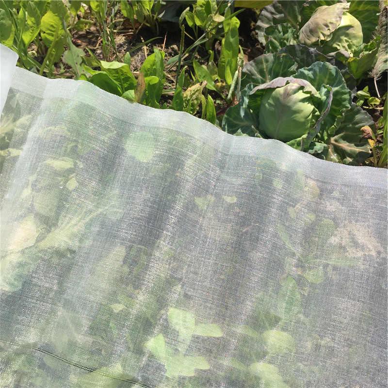 60 ตาข่ายเรือนกระจกป้องกันแมลงสุทธิ BIRD Garden สุทธิการล่าสัตว์คนตาบอดสวนตาข่ายสำหรับปกป้องดอกไม้พืชผักผลไม้