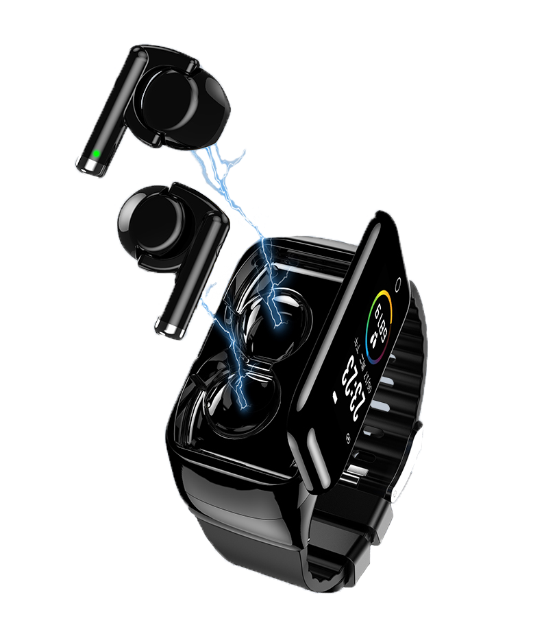 AKW M7 Smart <font><b>Watch</b></font> For Women <font><b>Men</b></font> With Bluetooth Headphone Hate Rate Blood Pressure Monitor Sport SmartWatch Android IOS image