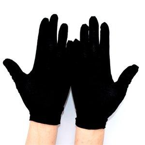 Luvas de proteção para trabalho, luvas de algodão para proteção de umidade, resistência ao calor e macia, 1 par de luvas de trabalho