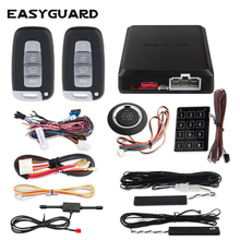 Car-Alarm-System Car-Central-Lock Remote-Starter Easyguard Pke for with DC12V